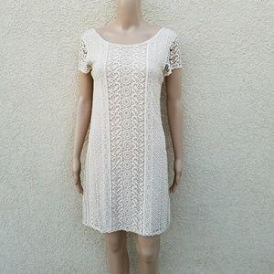 Tart Collections Crochet Boho Mini Dress